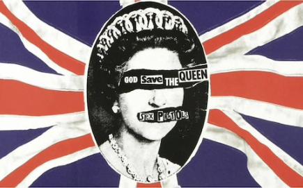Sex Pistols Album Cover by Jamie Read